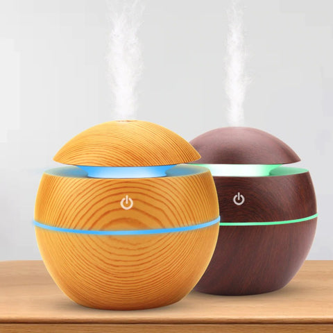 130ml Wooden Ball Humidifier