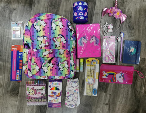 Unicorn Stationery Combo
