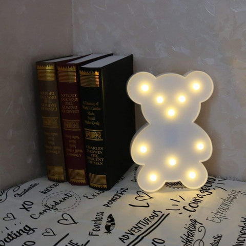 Bear Night Light (Pink or White)