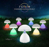 Mushroom Nightlight - 7 COLOURS
