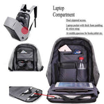 Anti-theft Laptop Backpack