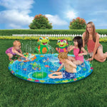3D Froggy Water Sprinkler Mat