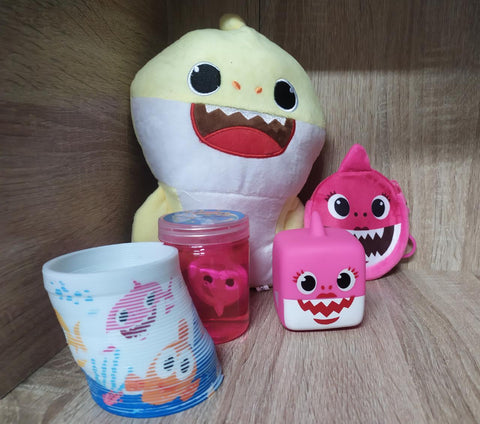 Baby Shark Toy Combo - Pink