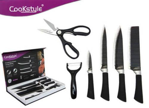CookStyle Daily use 6pc Knife Set