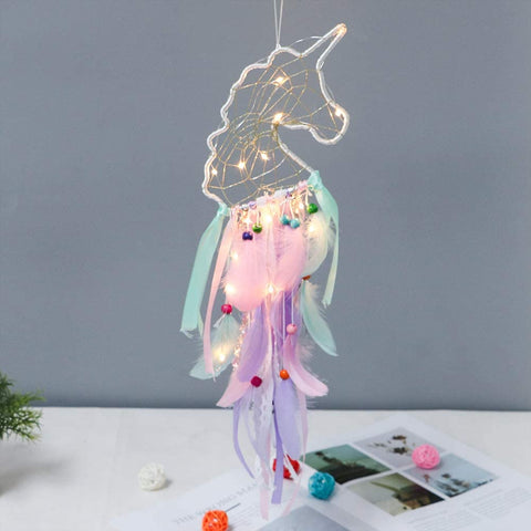 Unicorn Dream Catcher - Unicorn Head