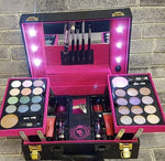 Magic Color Make-up Kit with LEDs in Carry Case