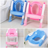 Teddy Toilet Ladder - Potty Trainer for Girls and Boys