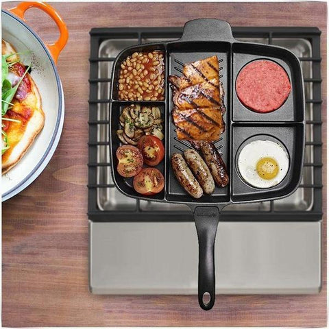 5in1 Magic Non-Stick Grill Pan