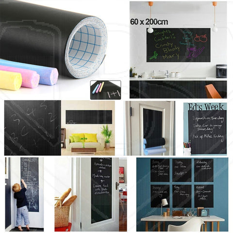 Blackboard Sticker 200*60cm