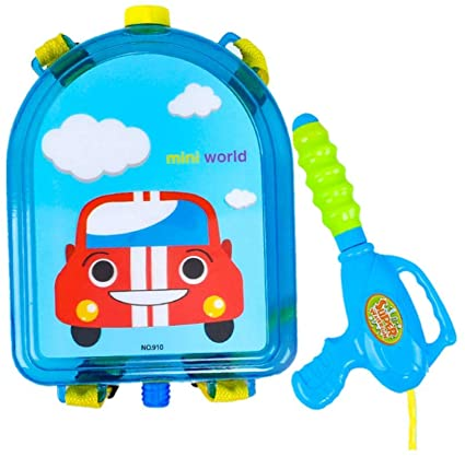 Car Water Gun Backpack