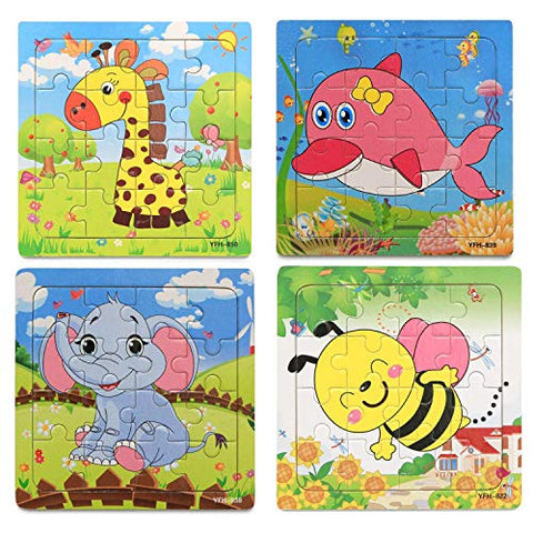 16pc Puzzle - Set of 4