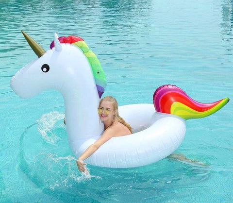 Giant Unicorn Inflatable Tube