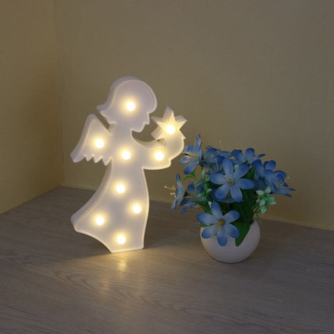 Angel Night Light (Pink or White)