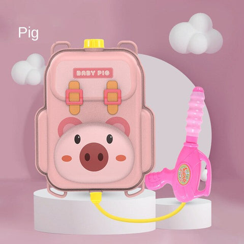 Piggy Water Gun Backpack