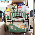 Brown Forest Car Seat Organizer