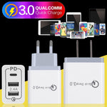 Quick Charge 3.0 Adapter - 2 port with type C