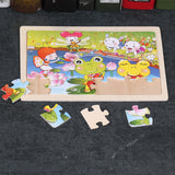 24pc Puzzle - Set of 4