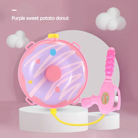 Donut Water Gun Backpack
