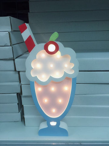 Milkshake Night Light