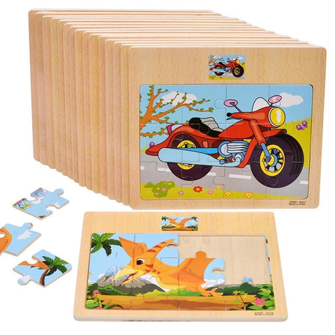 12pc Puzzle - Set of 4