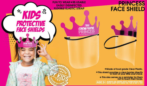Kids Faceshield - Pink