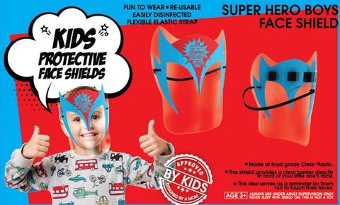 Kids Faceshield - Red