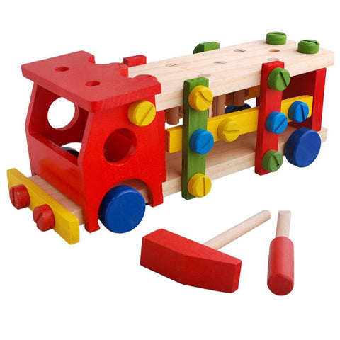Wooden Screw Truck
