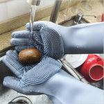 Magic Silicon Washing Gloves