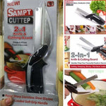 Clever Cutter - 2in1 Knife and Cutting Board