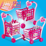 3in1 Musical Shopping Trolley