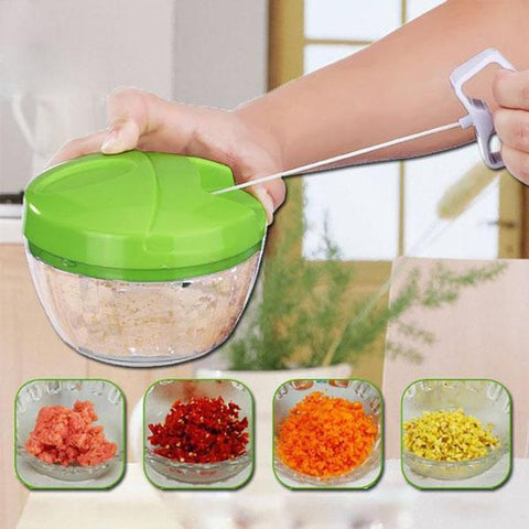 Easy Spin Food Cutter