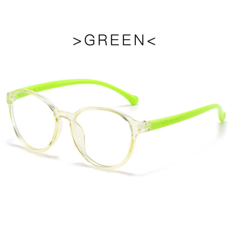 Blue Ray Glasses - UV Protection - Green