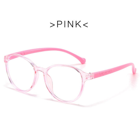 Blue Ray Glasses - UV Protection - Pink