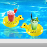 Duck Floating Drink Holder - Set of 4