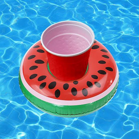 Watermelon Floating Drink Holder - Set of 4