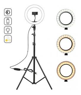 10 Inch Ringlight - Adjustable Stand