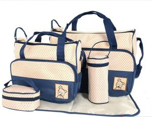 5pc Nappy Bag Set