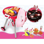 BBQ Pretend Playset - Pink / Red