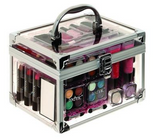 Miss Young Make-up Kit with Transparent Carry Case