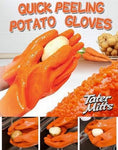 Quick Peeling Potato Gloves