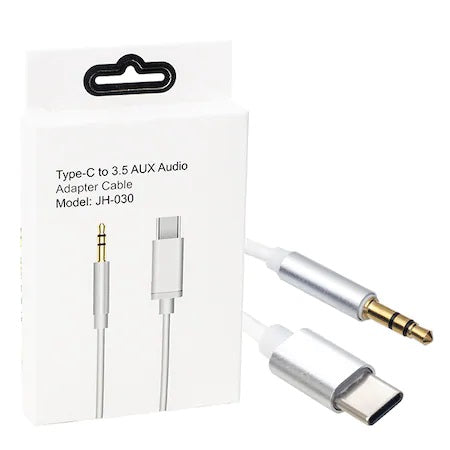 Type-C to 3.5 AUX Audio Adapter Cable