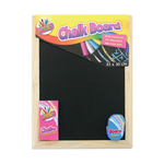 Chalk Board - A4 with Chalks and Eraser