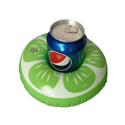 Lime Floating Drink Holder - Set of 4