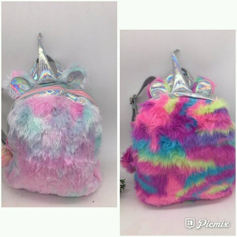 Unicorn Fluffy Bag