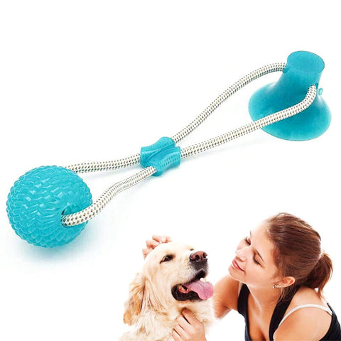 Self Playing Tug Of War Dog Toy With Suction Cup