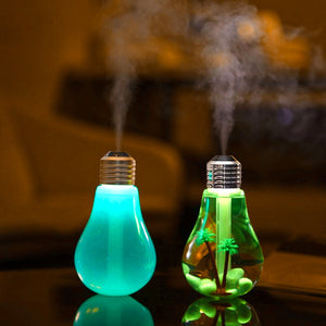 Ultrasonic Humidifier - Oil Essential Aroma Diffuser
