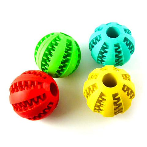 Dog Toy - Tooth Brushing Ball
