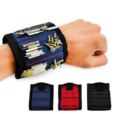 Builders Magnetic Wrist Band