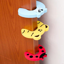 Load image into Gallery viewer, Child Proof Door Stopping Finger Guard - 5 Piece Set