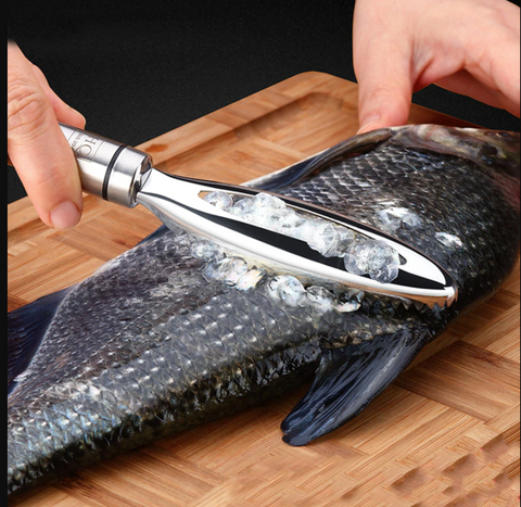 Fish Scale Remover and Cleaner Tool